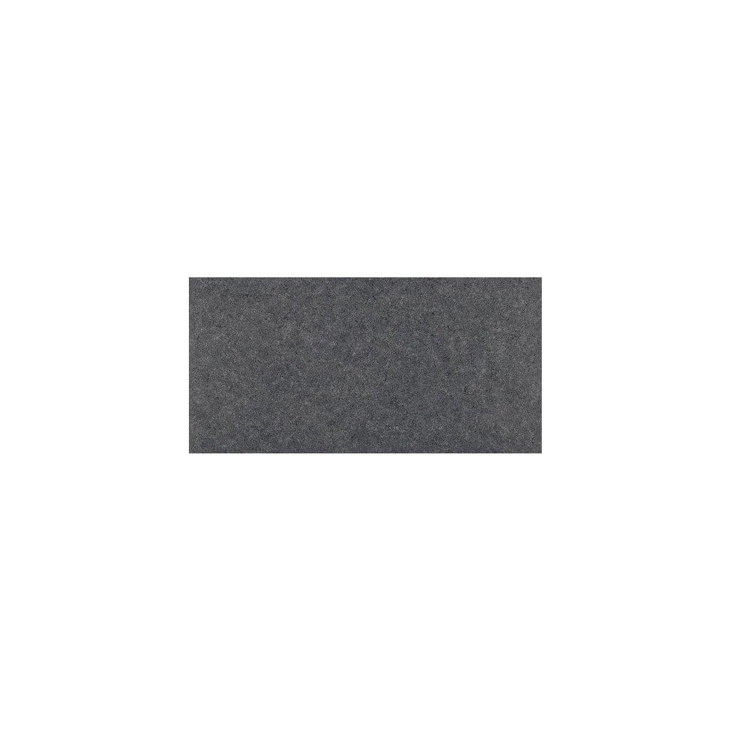 Dlažba Rako Rock černá 30x60 cm lappato DAPSE635
