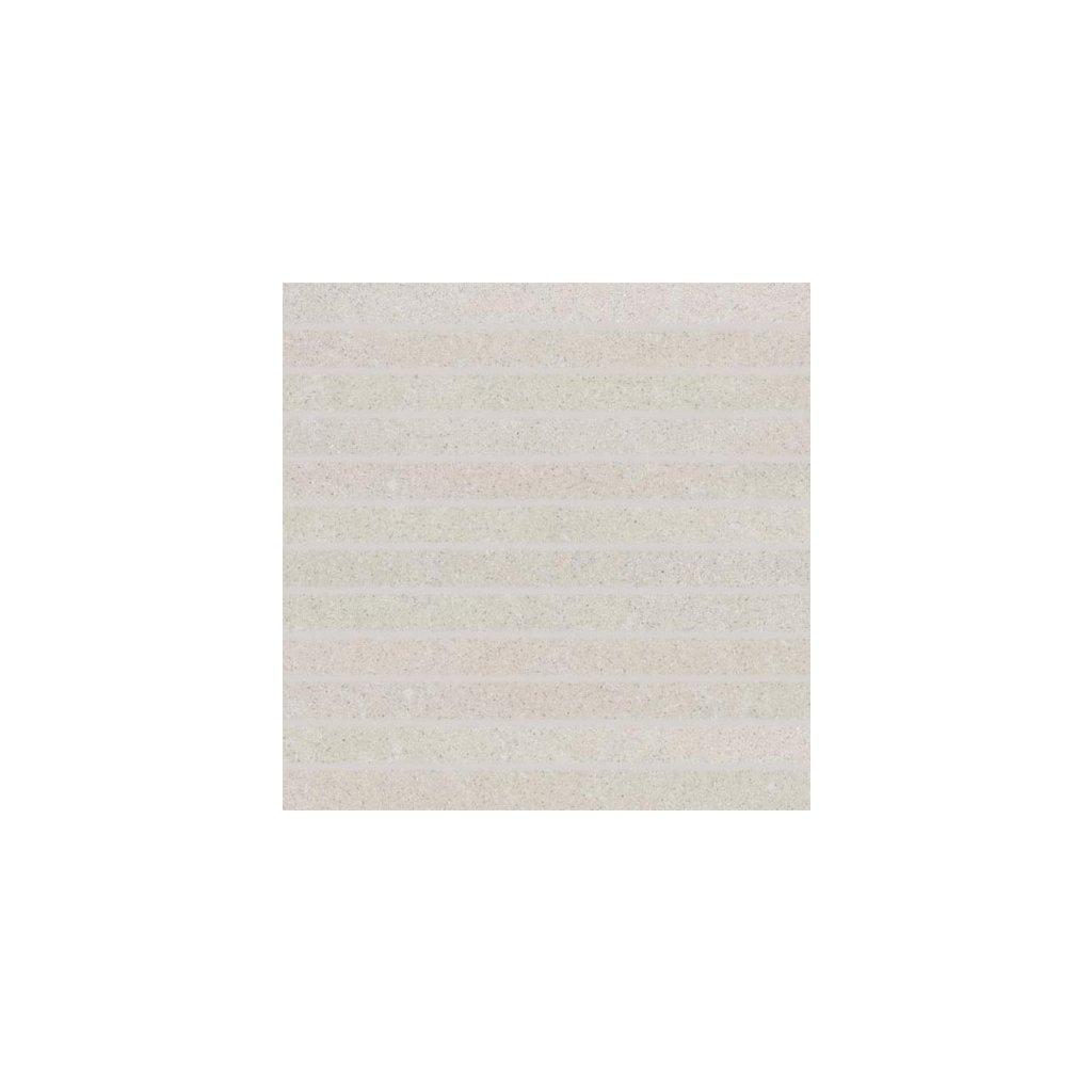 Mozaika Rako Rock bílá 30x30 cm mat DDP34632