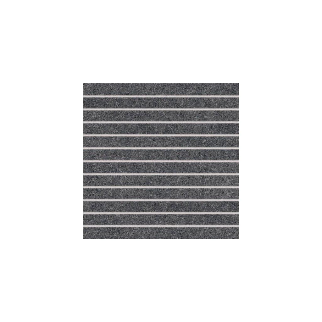 Dekor Rako Rock černá 30x30 cm mat DDP34635