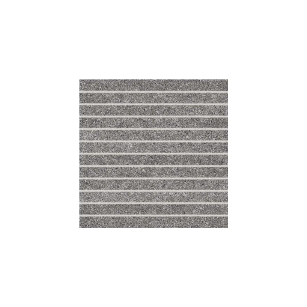 Dekor Rako Rock tmavě šedá 30x30 cm mat DDP34636