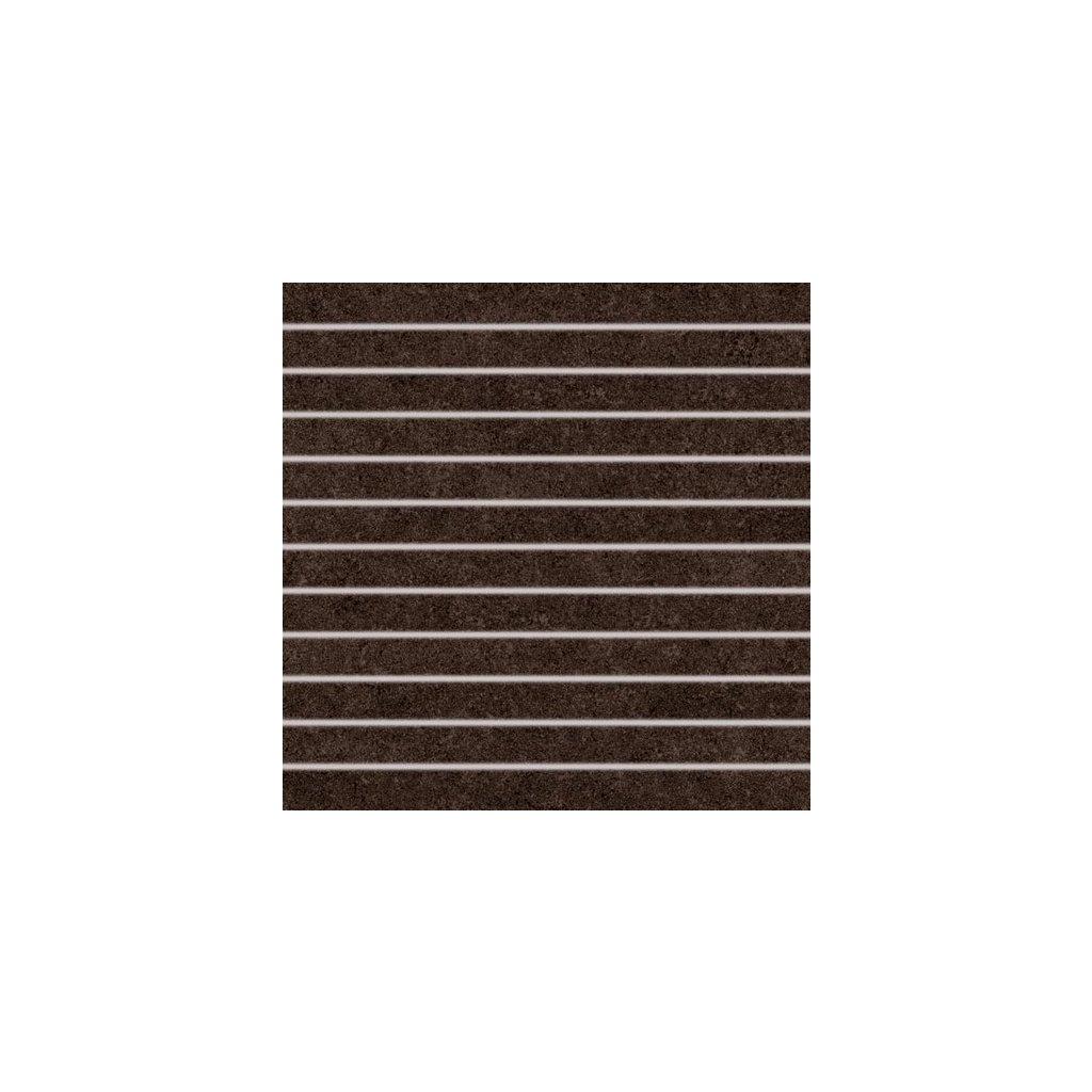 Dekor Rako Rock hnědá 30x30 cm mat DDP34637