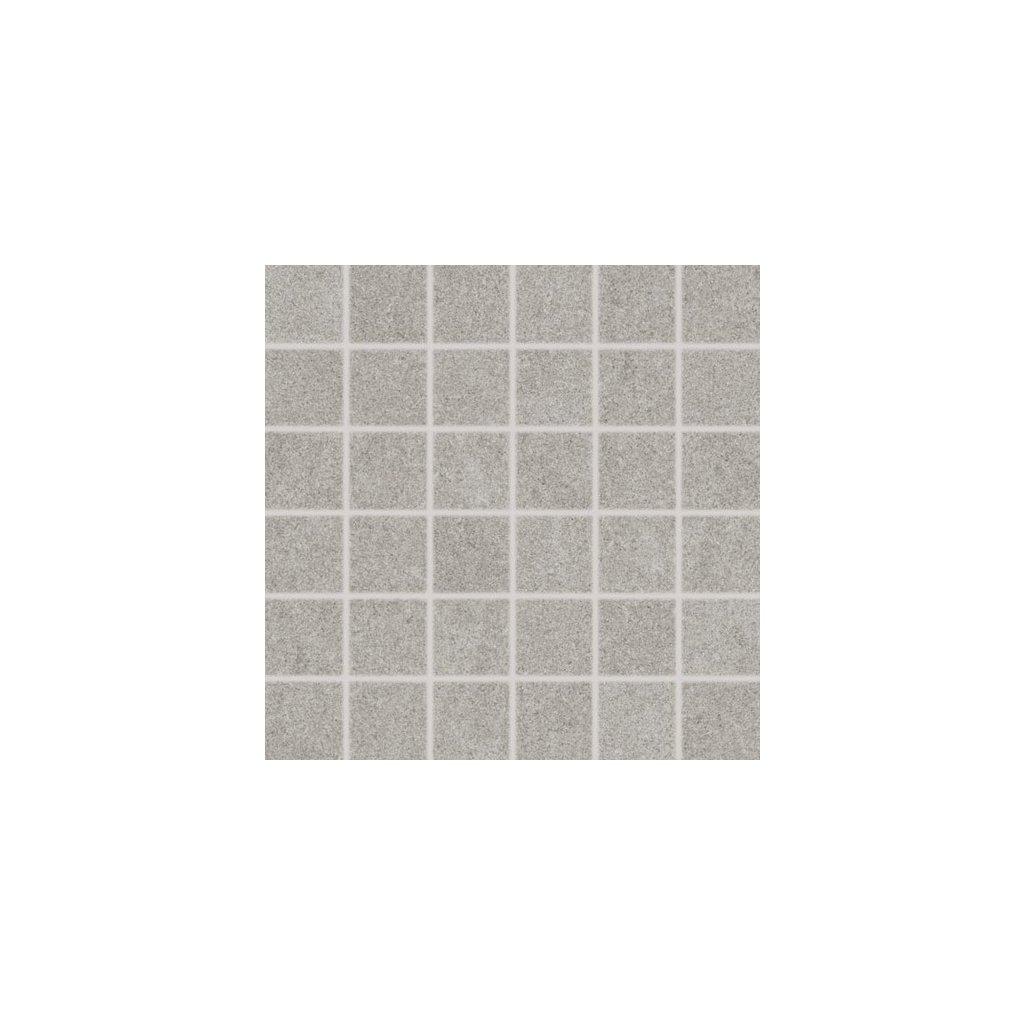 Mozaika Rako Rock světle šedá 30x30 cm mat DDM06634