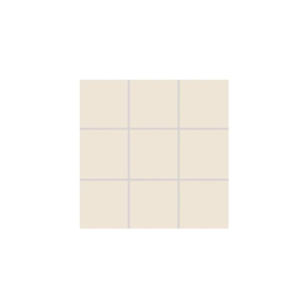 Dlažba Rako Taurus Color bílá 10x10 cm mat TAA12011