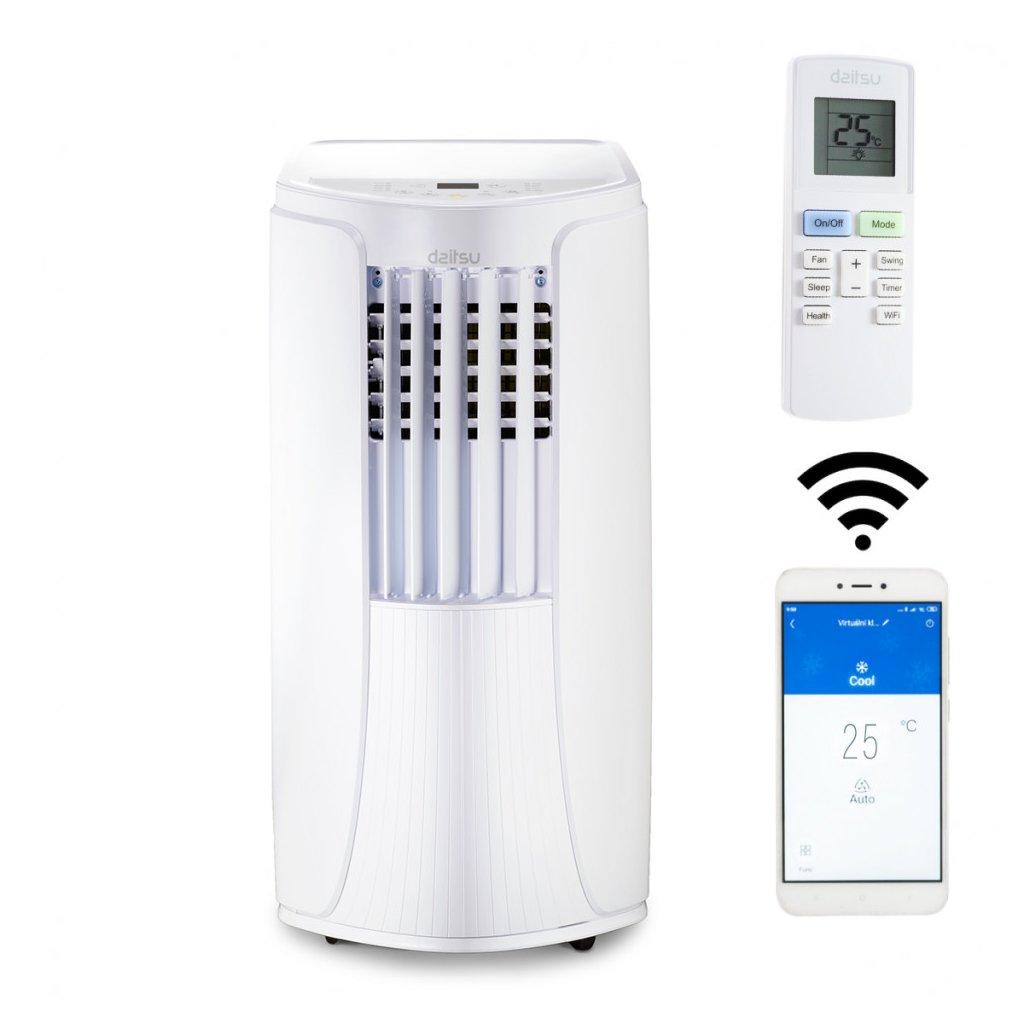 DAITSU ADP 12F/ CX Wi-Fi  + voucher + Dodatečná sleva 3% kód: KLIMA