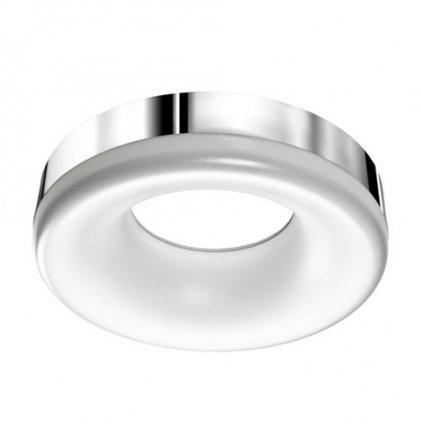 LED Stropní a nástěné svítidlo Azzardo Ring LED 3000K chrome AZ2947 18W 1530lm 3000K IP20 37cm chromové