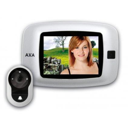AXA - DDS2 - digitální kukátko se zvonkem