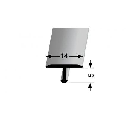 Přechodový profil T 14 mm | Küberit 290 a 290 H