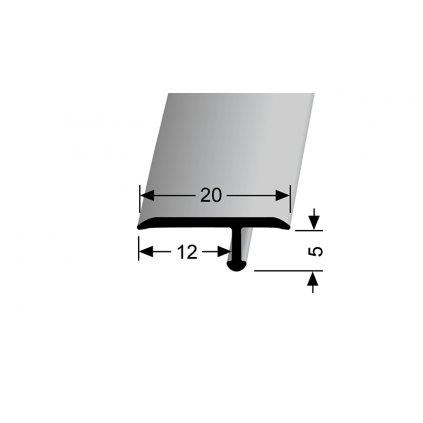 Přechodový profil T 20 mm | Küberit 291 a 291 H