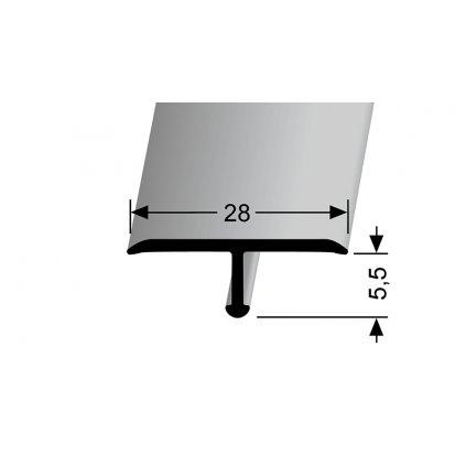 Přechodový profil T 28   Küberit 293 a 293 H