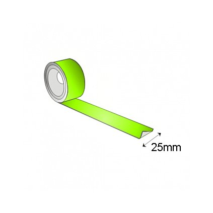 Fotoluminiscenční páska 10 m x 25 mm