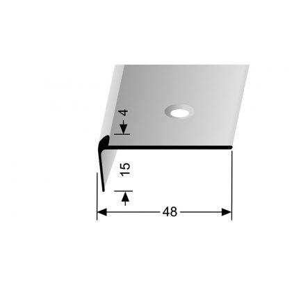 Schodový profil pro krytiny do 4 mm | Küberit 861