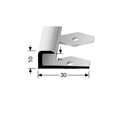 Ukončovací profil pro 7 mm, hladký | Küberit 803 EB