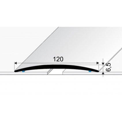 Přechodový profil 120 mm - oblý