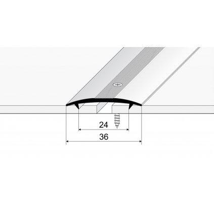 Spojovací kobercový profil 36 mm