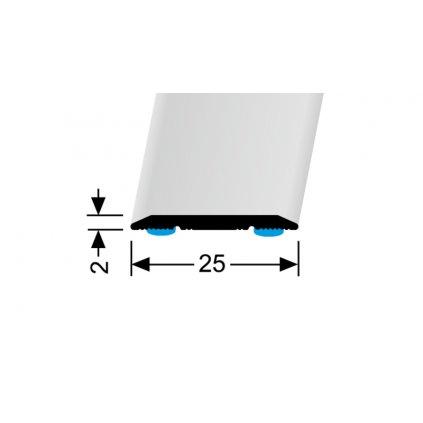 Přechod 25 mm - plochý | Küberit 442, 442 SK