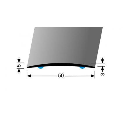 Přechod 50 mm - oblý | Küberit 463 SK