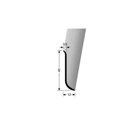 Soklový hliníkový profil 40 mm | Küberit 910 U