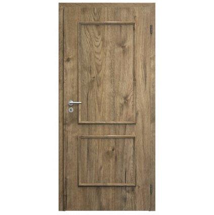 Sapeli dveře Bergamo CPL laminát komfort M20 dub sherwood
