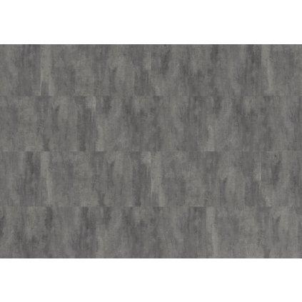 Cement dark grey KPP tl. 5,5 mm SPC minerální podlaha, imitace betonu