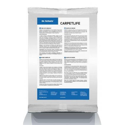 Carpetlife prášek dr.Schutz