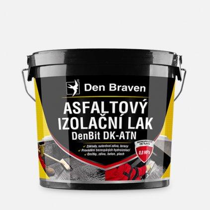 Den Braven - Asfaltový izolační lak DenBit DK - ATN, kbelík 4,5 kg, černý