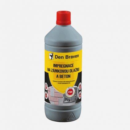 Den Braven - Impregnace na zámkovou dlažbu a beton, láhev 1 litr