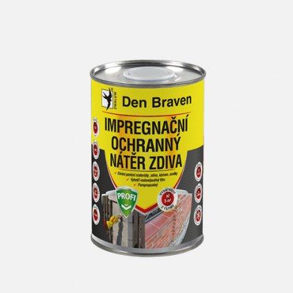 Den Braven - Impregnační a ochranný nátěr zdiva PROFI, dóza 1 litr