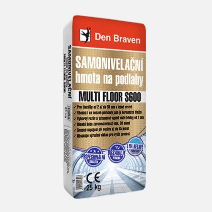 Den Braven - Samonivelační hmota na podlahy MULTI FLOOR S600, pytel 25 kg