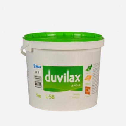 Duvilax L-58 lepidlo na podlahoviny, kbelík 5 kg, bílá