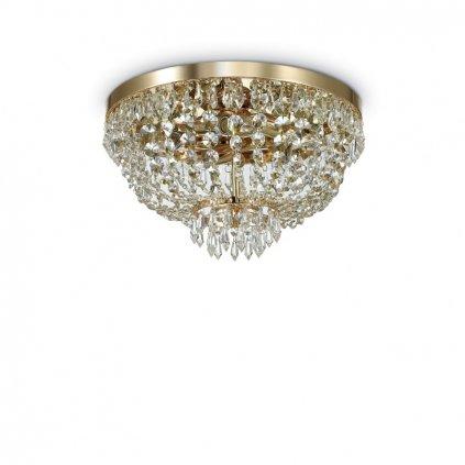 Stropní přisazené svítidlo Ideal Lux PL5 oro 114675 41cm zlaté