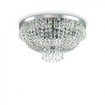Stropní přisazené svítidlo Ideal Lux Caesar PL6 cromo 093475 51cm stříbrné