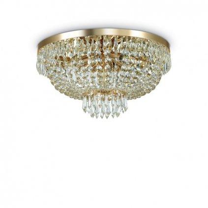 Stropní přisazené svítidlo Ideal Lux Caesar PL6 oro 114682 51cm zlaté