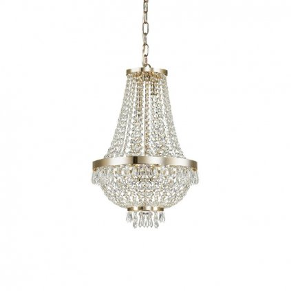 Závěsné svítidlo Ideal Lux Caesar SP6 oro 114729 38cm zlaté