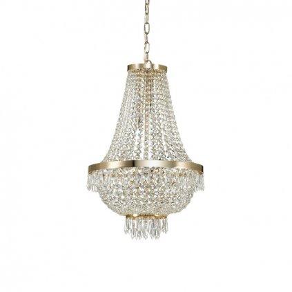Závěsné svítidlo Ideal Lux Caesar SP9 oro 114736 45cm zlaté