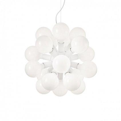 Závěsný lustr Ideal Lux Dea SP20 bianco 138176 bílý 55cm