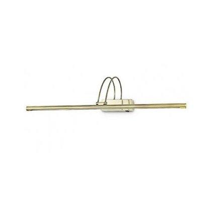 LED Nástěnné svítidlo Ideal Lux Bow AP114 ottone satinato 121130 mosazné 76cm