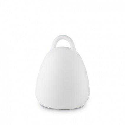 LED Venkovní přenosná lampa Ideal Lux Live TL1 Campana 138893 235mm 4000K RGB IP65