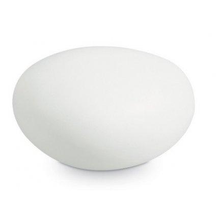 Venkovní stojací lampa Ideal Lux Sasso PT1 D30 White 161761 E27 1x40W 33cm bílá