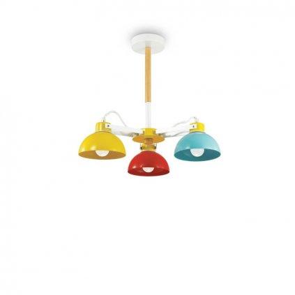 Dětské stropní svítidlo Ideal Lux Titti PL3 157146 47cm