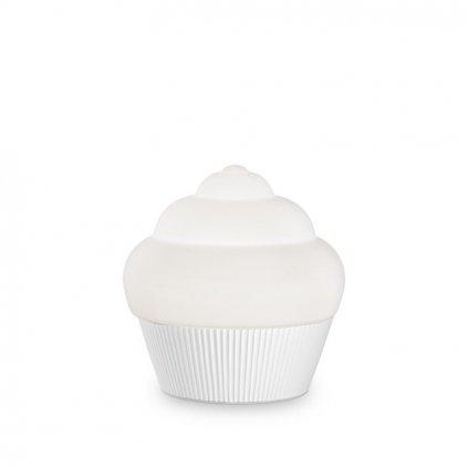 Stolní lampa Ideal Lux Cupcake TL1 bianco 194417 bílá