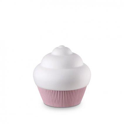Stolní lampa Ideal Lux Cupcake TL1 rosa 194448 růžová