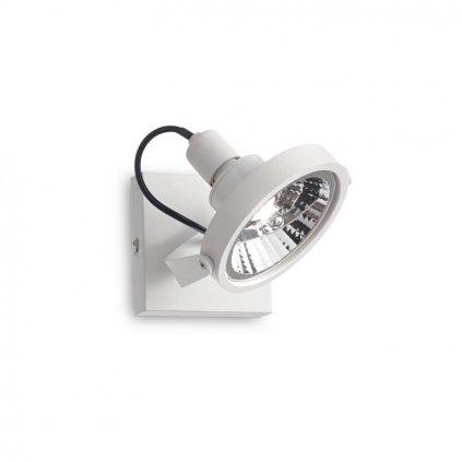 Bodové svítidlo Ideal Lux Glim PL1 Bianco 200194 GU10 1x50W 13cm bílé