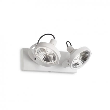 Bodové svítidlo Ideal Lux Glim PL2 Bianco 200200 GU10 2x50W 31cm bílé
