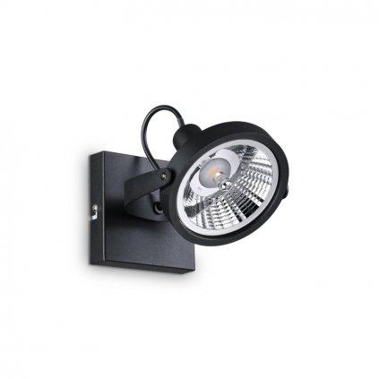 Bodové svítidlo Ideal Lux Glim PL1 Nero 200231 GU10 1x50W 13cm černé