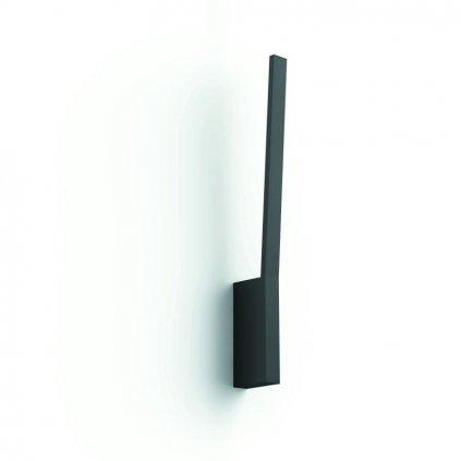 Hue Bluetooth LED White and Color Ambiance Nástěnné svítidlo Philips Liane 40902/30/P9 černé 2000K-6500K RGB