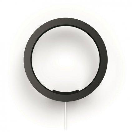 Hue Bluetooth LED White and Color Ambiance Nástěnné svítidlo Philips Sana 40901/30/P9 černé 2000K-6500K