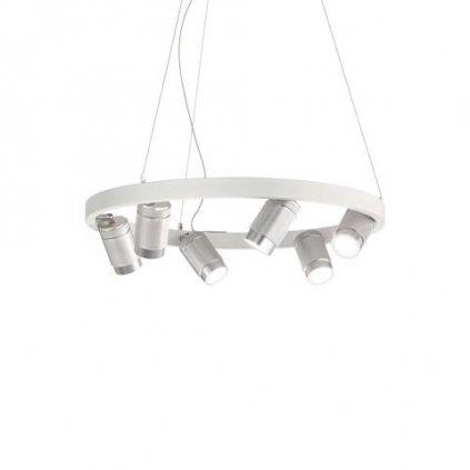 LED Závěsné bodové svítidlo Ideal Lux Zoom SP Bianco 235936 28W 1120lm IP20 3000K bílé