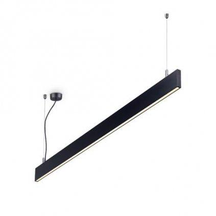 LED Závěsné lineární svítidlo Ideal Lux Linus SP BK 241975 34W 1950lm IP20 3000K 120cm černé