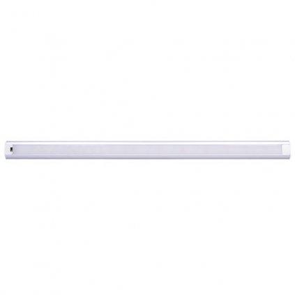 LED Bezdotykové podlinkové a nábytkové lineární svítidlo Solight WO217, 9W, 700lm, 4100K, IP20, 60cm, 12V, IR senzor, stmívatelné