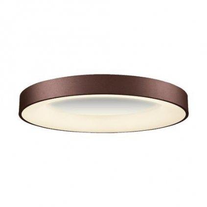 LED Stropní přisazené svítidlo Luxera GENTIS 18401 50W 3000lm 4000K IP20 60cm hnědé